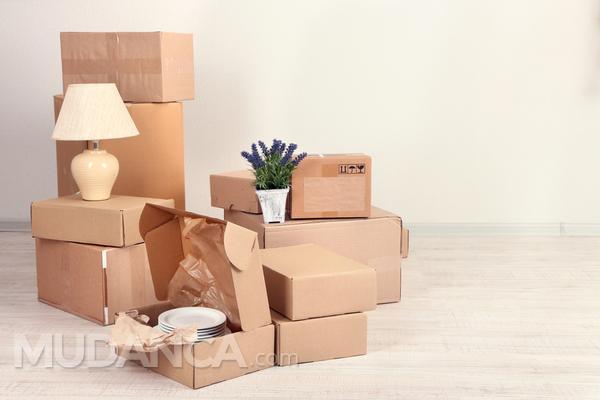 Onde comprar caixas para a mudança?